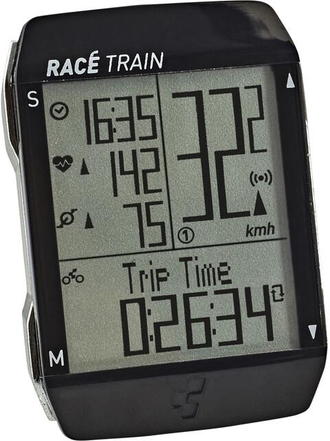 Cube Race Train Fahrradcomputer Set black